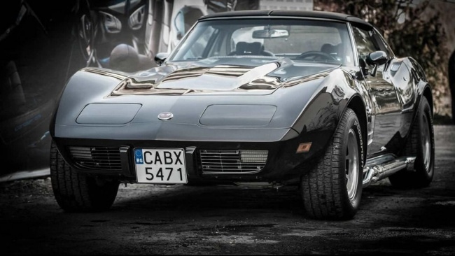 Chevrolet Corvette Stingray C3 от болгарского тюнинг-ателье ART Design Studio Vilner